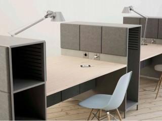 Acoustic Desk Storage