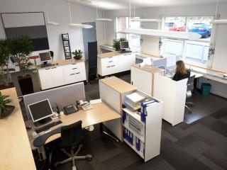 Big office fitout Desk Storage