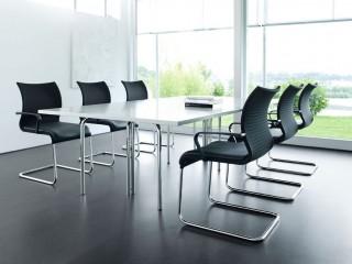 Black Meeting Room Chairs