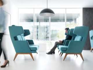 Breakout chairs wing back