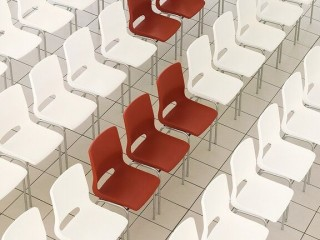 Colourful Large Meeting Chairs
