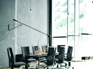 Contemporary Meeting Chairs Leather