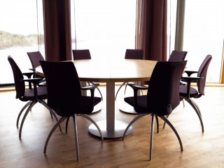 Contempory Meeting Room chairs with Armrests
