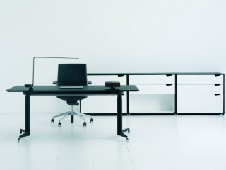 Genius Standing Desk black
