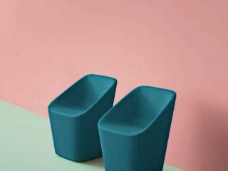 Pedrali Log Reception Chairs