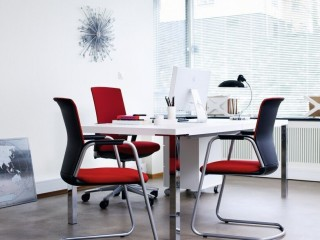 Visitor Meeting Chairs with Armrests