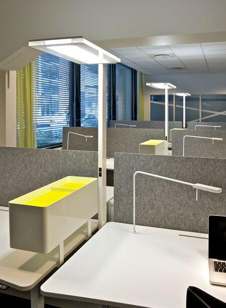 office task lighting. Free Standing Office Lighting. Creating Safe Task Lighting