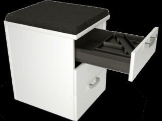 Great value wooden mobile pedestals. High Quality & come with 10 year warranty & suit all budgets Large range of underdesk pedestal & fixed height pedestals in Ireland